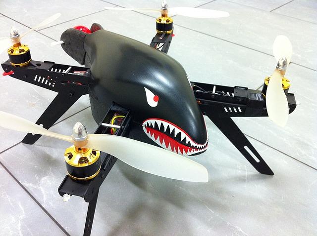multicopter s obličejem