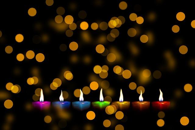 sedm svíček