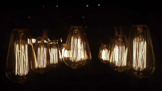 zajímavé osvětlení